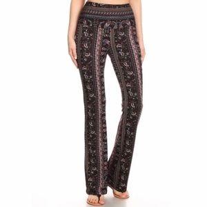 Pants - Paisley flare pants